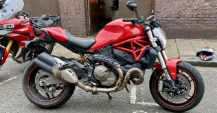 Ducati Monster 821 Red 2016 - for sale