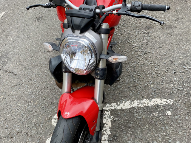 Ducati Monster 821 Red 2016 - for sale 2