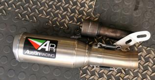 Monster 821 / 1200 Austin racing gp1r exhaust