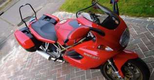 2000 Ducati ST2, ONE owner from new.