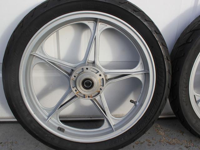"Pair of Oscam Cagiva/Ducati bevel 2.15"" x 18"" wheels 2"