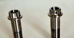 MotoCorse titanium Swingarm pinch bolts for Panigale 1199 1299