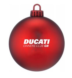 DOC GB Christmas Bauble