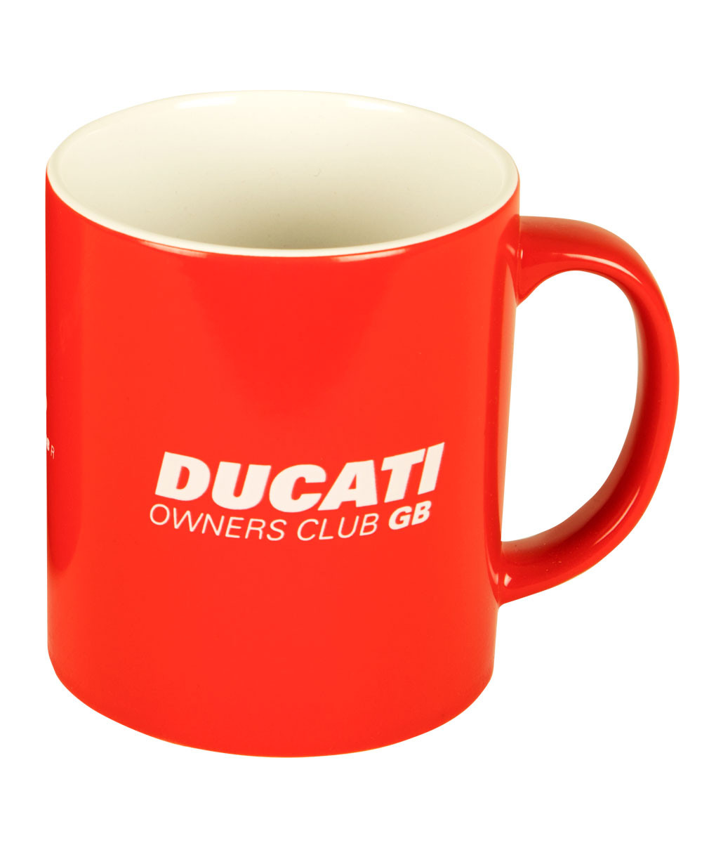 DOC GB 'Red Hot' Mug