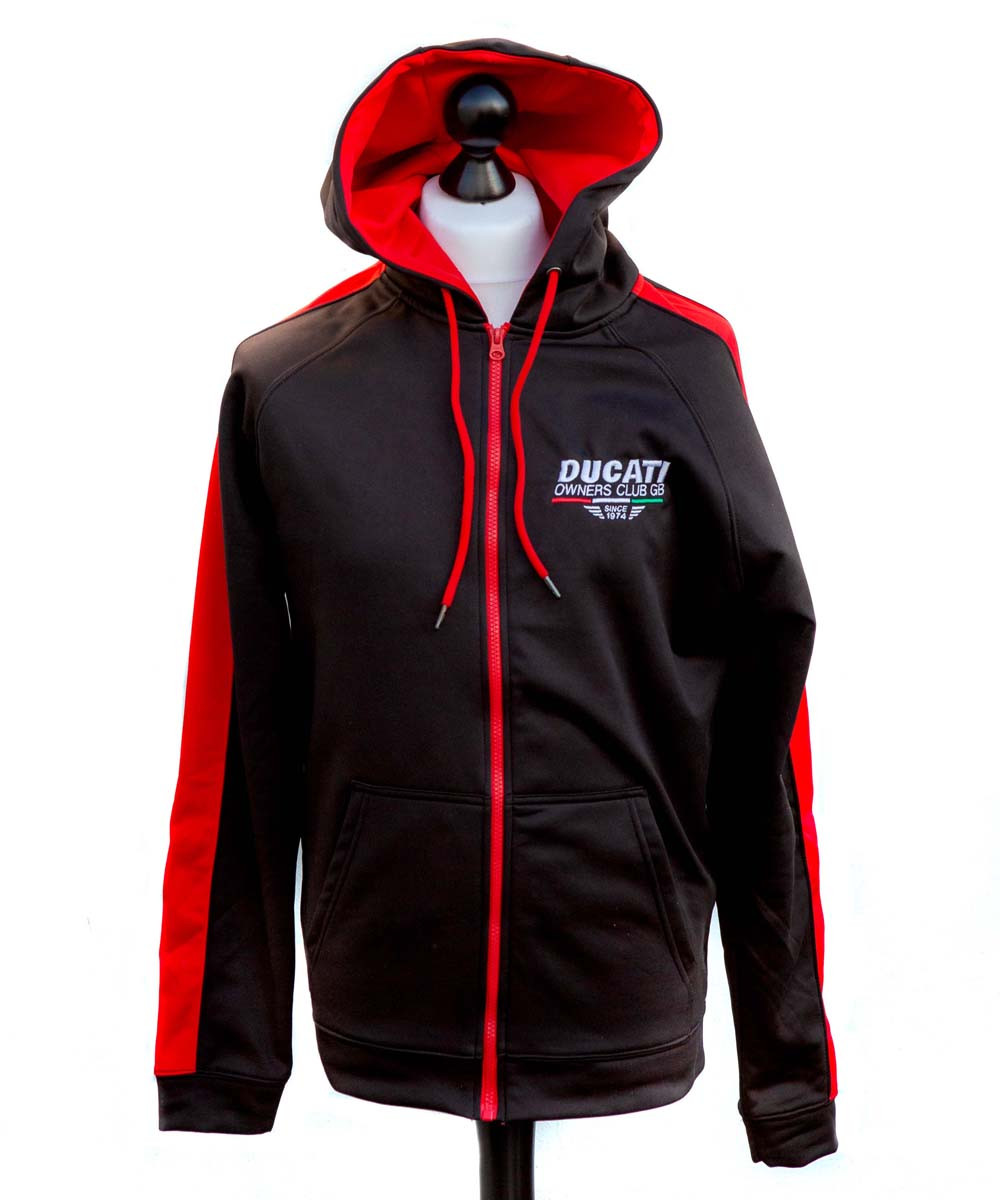 Polyester Zipped Hoody
