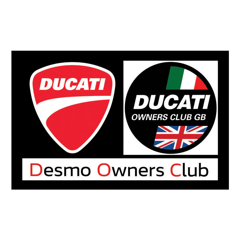 Desmo DOC GB Flag 2018