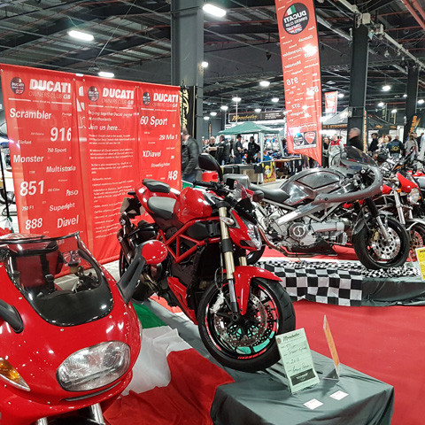 Manchester Bike Show - Club Stand next weekend