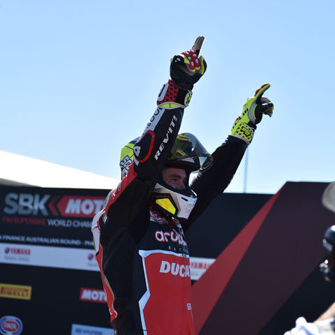 Álvaro Bautista totally dominates the opening round at Phillip Island with a hat-trick of three wins!