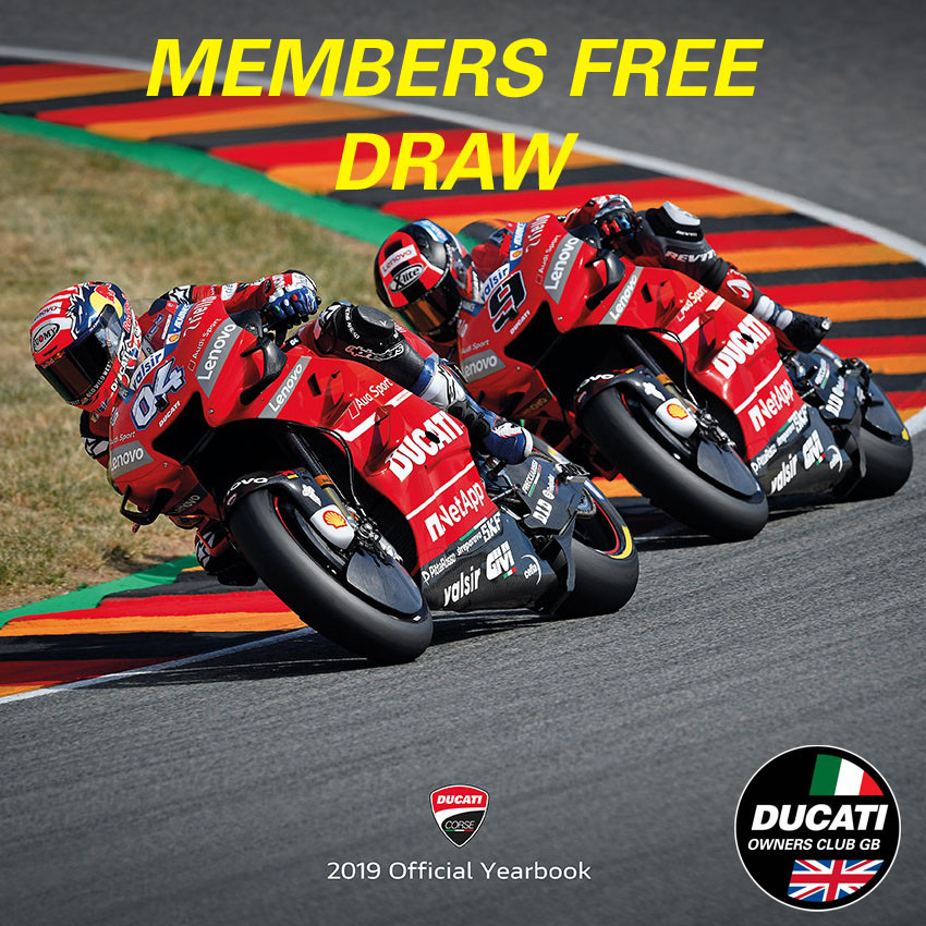 Members Free Competition Time - Ducati Corse Book 2019 give away