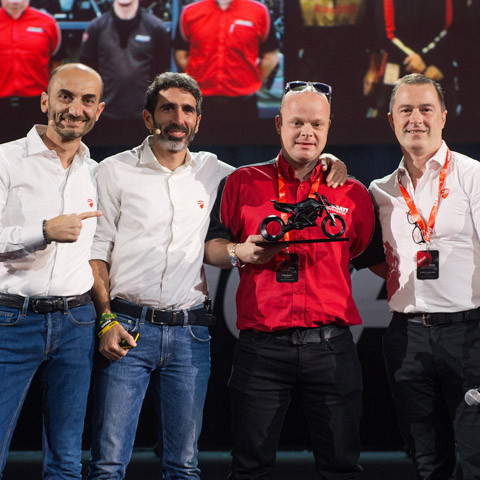 DMC Group collect Ducati dealer of the year for Europe and Africa