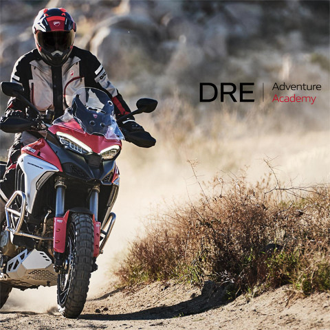 Ducati DRE Adventure Academy 2021 dates and booking info