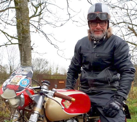 Ducati Special on Henry Cole's Motorbike Show