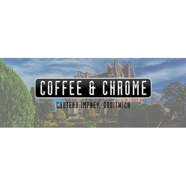 Footman James Coffee & Chrome Chateau Impney Droitwich