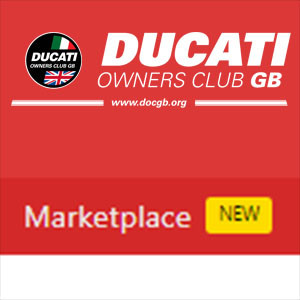 Ducati Owners Club GB - Marketplace, a place for members to buy and sell.
