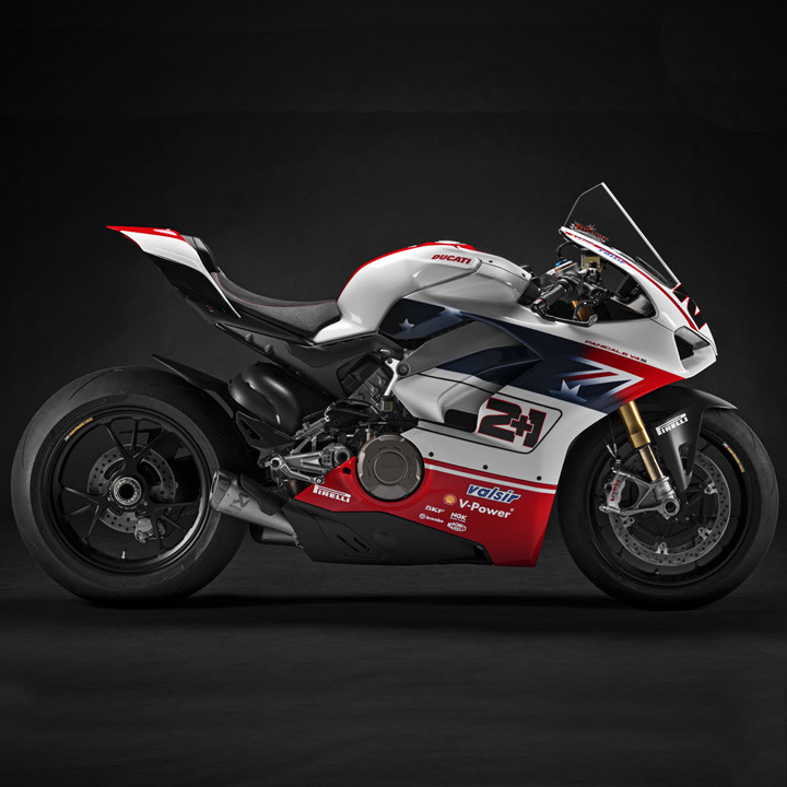 "Panigale V4 S bikes from the ""Race of Champions"" have been auctioned on eBay"