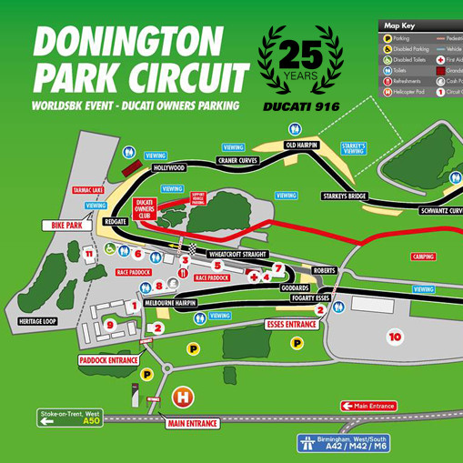 World Superbikes Donington 2019 – Free entry for DOC GB members!