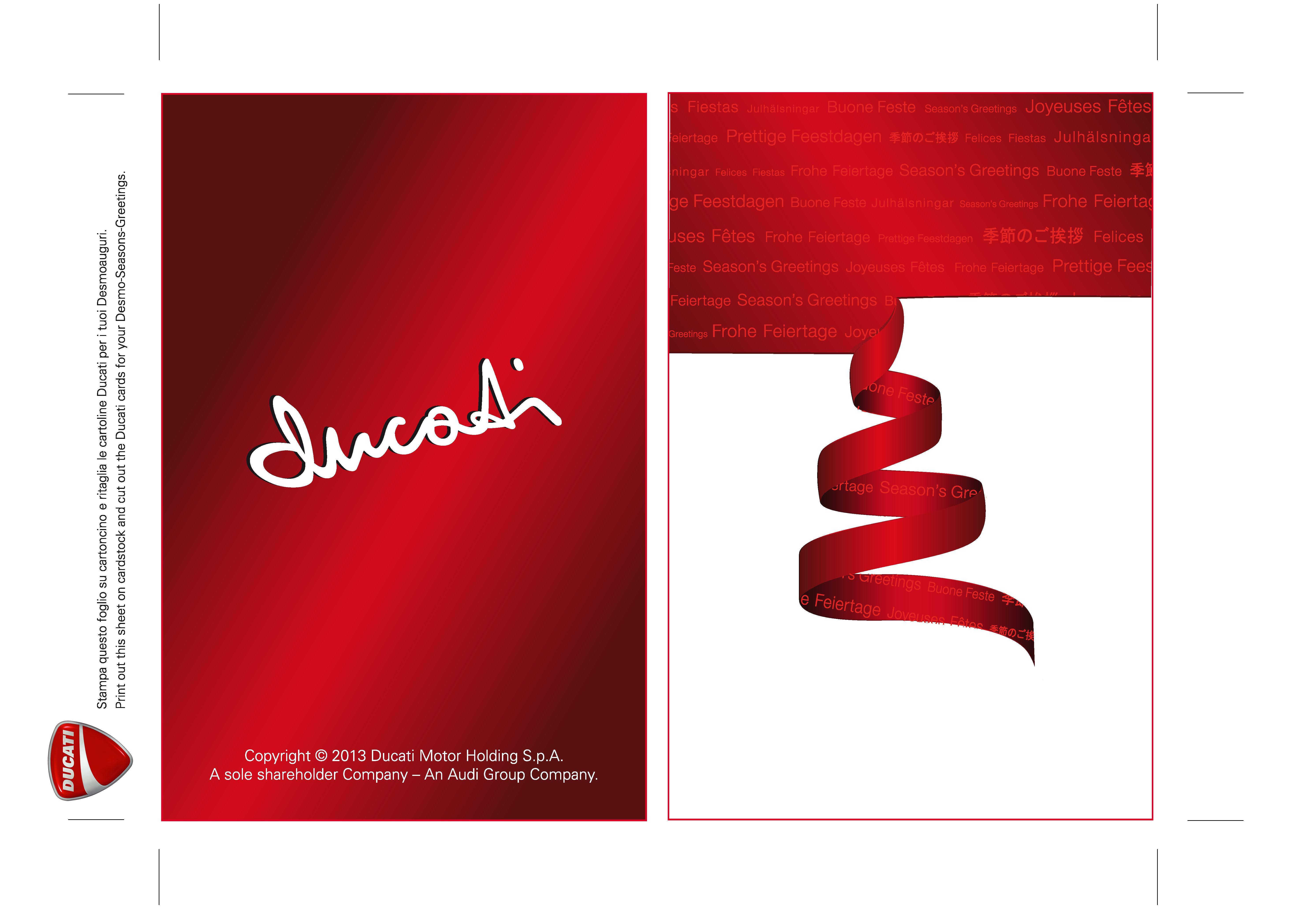 Ducati Card 002