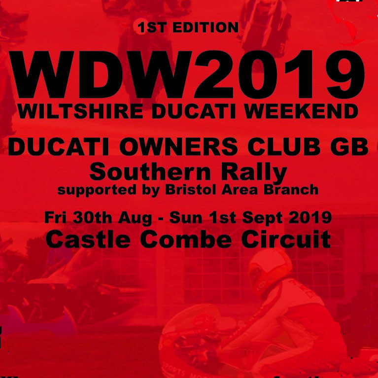 DOC GB Southern Rally 2019 - WDW2019 Map and further info